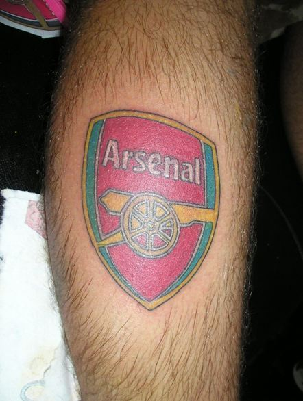 Arsenal Tattoo by Beto